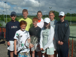 Prize winning Enniskillen Juniors at The West of Ireland Championships